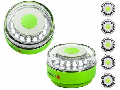 Navisafe Portable Navilight 360 Degree 2NM Rescue - Glow - Green