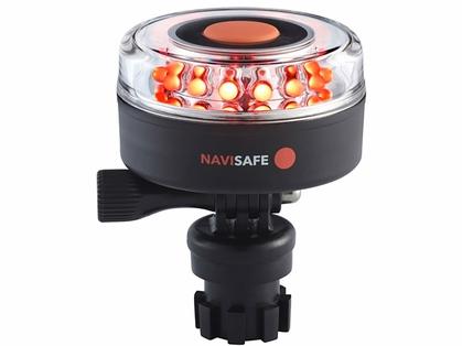 Navisafe Navilight All RED 360 Degree 2NM w/ Navimount Base