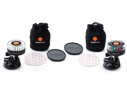 Navisafe Navilight Dual Kit S Portable Multi Nav/MOB Combo Light Kit