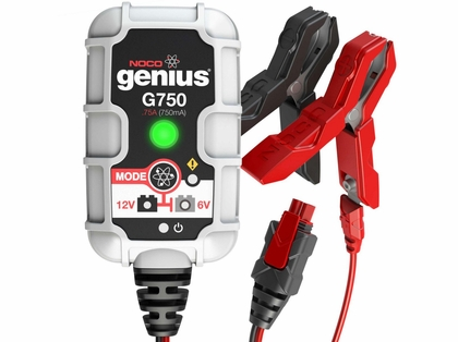 NOCO G750 Genius .75 Amp 6V/12V UltraSafe Battery Charger