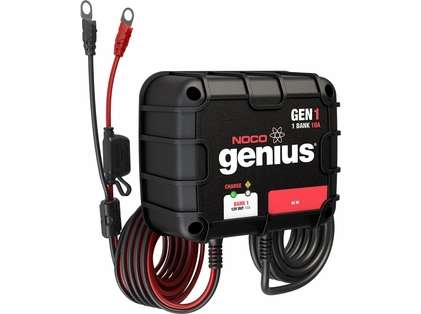 NOCO GEN1 Genius 10A Onboard Battery Charger - 1 Bank