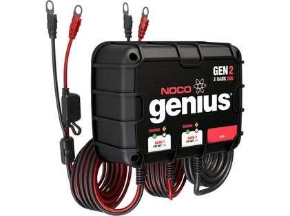 NOCO GEN2 Genius 20A Onboard Battery Charger - 2 Bank