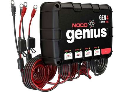 NOCO GEN4 Genius 40A Onboard Battery Charger - 4 Bank