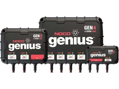 NOCO Genius Onboard Battery Chargers