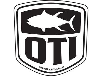 Ocean Tackle International Vinyl Decal 5 x 5