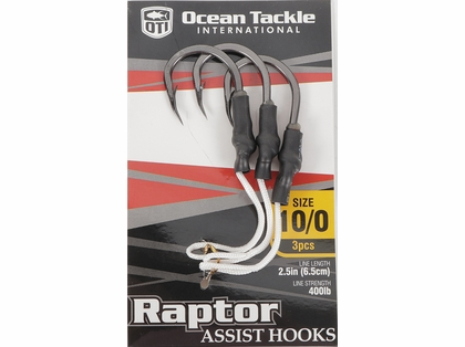 Ocean Tackle Raptor Assist Hooks