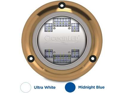 OceanLED 012103BW Sport S3124s LED Light - Ultra White/Midnight Blue