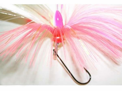 Offshore Custom Tackle Joe Shute Ballyhoo Pin Rigs 1oz All White