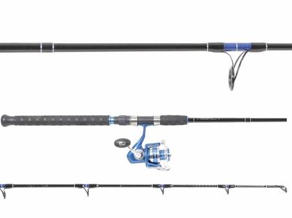 Okuma Blue Azores Reel/TackleDirect Jig Rod Fluke Combo
