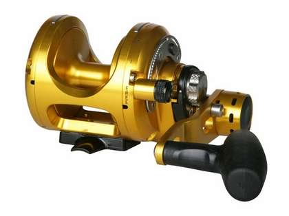 Okuma MK-50WII-TDC Makaira 2-Speed Lever Drag Reel with TDC Drag Cam