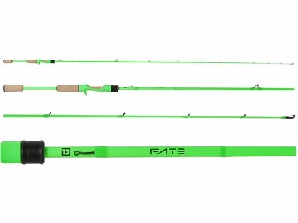 13 Fishing FTB2C74H Fate Black Generation 2 Casting Rod