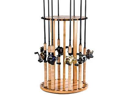 Organized Fishing BPSP 24-Rod Spinning Floor Rack