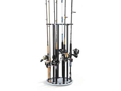 Organized Fishing DSR-020 Offwhite Distressed Spinning Round Rack
