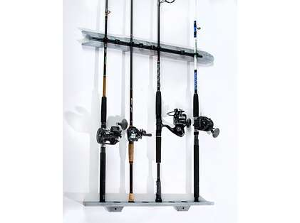 Organized Fishing DVR-008 Offwhite Distressed Modular Wall Rack