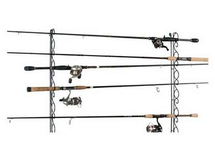 Organized Fishing WHR 9-Rod Ceiling/Wall Wire Rack