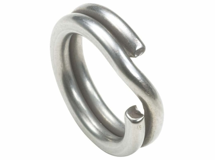 Owner 5196-044 Hyper Wire Stainless Split Rings - Size #4