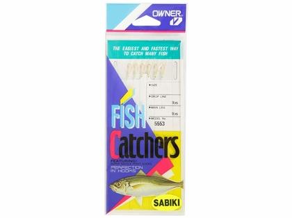 Owner Gold Rainbow Skin Sabiki Bait Catcher Rigs 5553-037/8