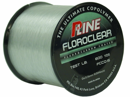 P-Line Floroclear Fluorocarbon Coated Copolymer Fishing Line Clear 300yd Pick