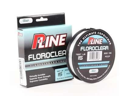 P-Line Floroclear Flourocarbon Coated Mono Line - 300yds 15lb