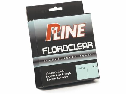 P-Line Floroclear Flourocarbon Coated Mono Line - 300yds 6lb