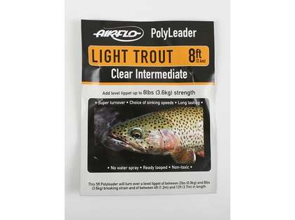 Airflo Light Trout 8ft PolyLeader