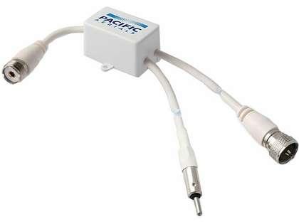 Pacific Aerials P7101 VHF/AM/FM Band Splitter