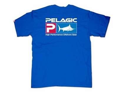 Pelagic 101 Deluxe T-Shirt Royal
