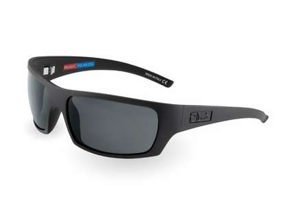 Pelagic 1040 The Mack Sunglasses Matte Black/Grey