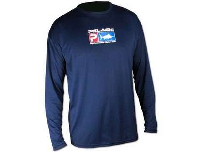 Pelagic AquaTek Shirt Navy