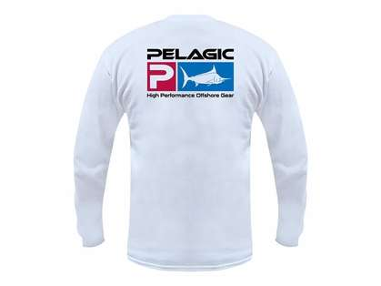 Pelagic Deluxe P Logo Long Sleeve Shirt