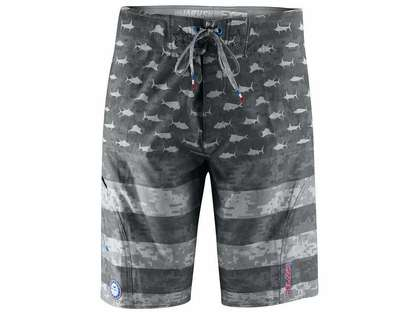 Pelagic Sharkskin Boardshorts - Patriot