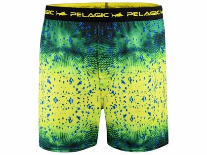 Pelagic Proform Boxers - Psycho Dorado Green - Small