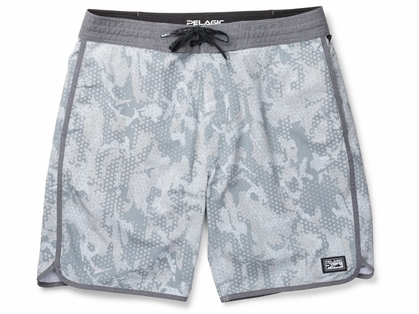 Pelagic The Slide Fishing Boardshort - Grey - 38