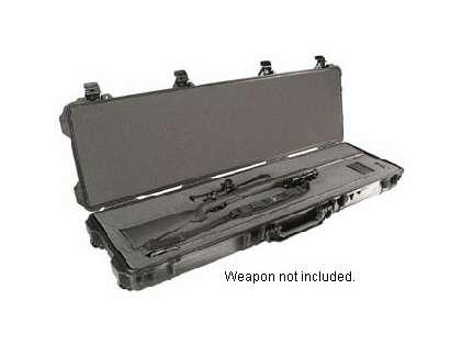 Pelican 1750 Weapons Case With Foam Black