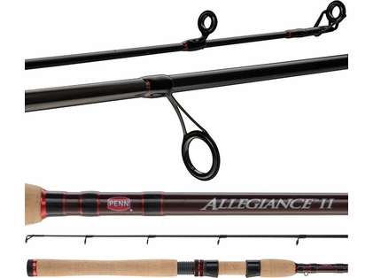 Penn ALLINII612S66 Allegiance II Inshore Spinning Rod