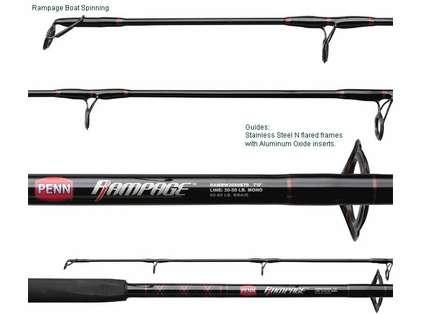 Penn Rampage Boat Rods