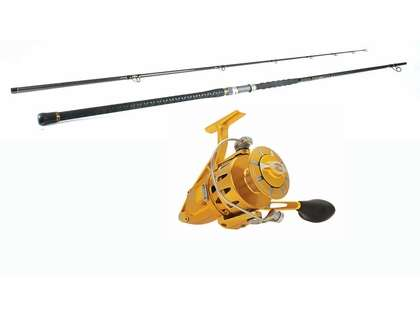 Penn Torque Reel Gold - Penn Carnage II 12ft Surf Fishing Combo
