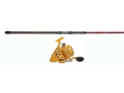 Penn Torque Reel Gold - St. Croix 12ft Avid Spin Rod Surf Fishing Combo