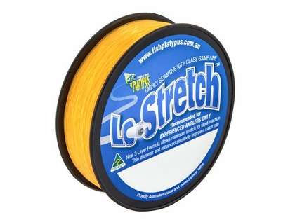 Platypus Lo-Stretch Monofilament Line - 10 kg X 500 m - Orange