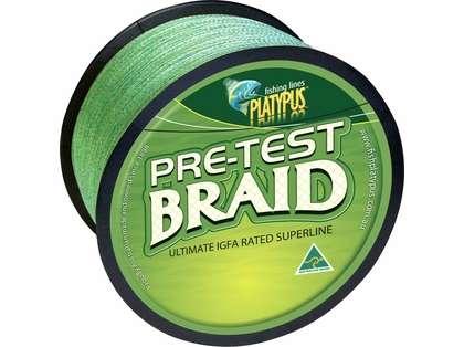 Platypus Pre-test Braid - Dark Green