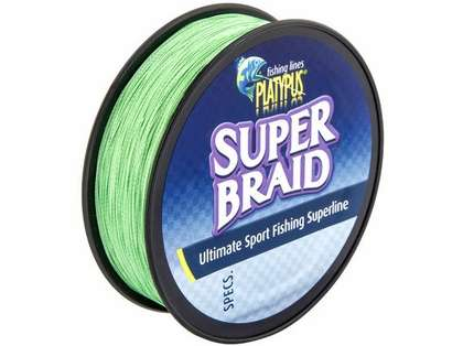 Platypus Super Braid Fishing Line - 10 lb