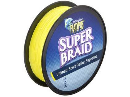 Platypus Super Braid Fishing Line - 2 lb