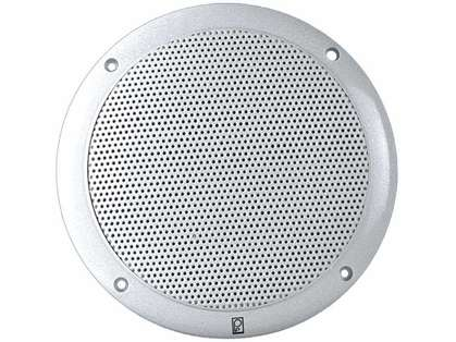 Poly-Planar MA4056 Performance Two-Way Round Speaker Pair - White