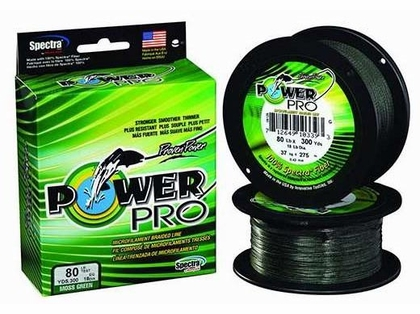 PowerPro Braided Spectra Fiber Fishing Line Moss Green 200LB 500 Yds