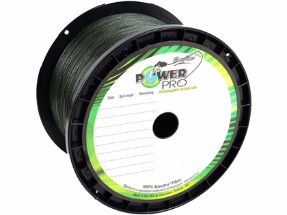 PowerPro Braided Spectra Fiber Fishing Line Moss Green 5LB 1500 Yds