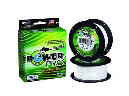 PowerPro Fishing Line Braided Spectra 65Lb 1500Yds White