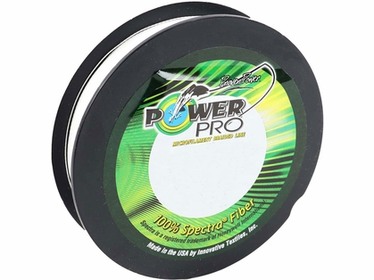 PowerPro Fishing Line Braided Spectra 65Lb 500Yds White