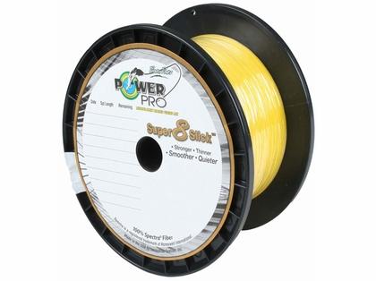 Powerpro Super Slick Braided Line 10lb 1500yds Hi Vis Yellow