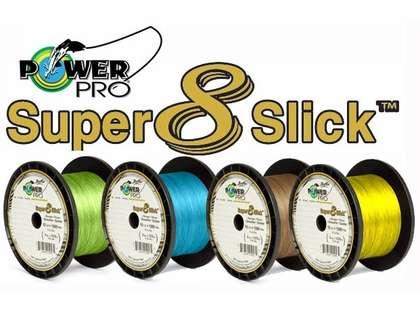 PowerPro Super Slick Braided Line 10lb 1500yds