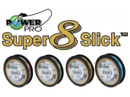 PowerPro Super Slick Braided Line 10lb 150yds